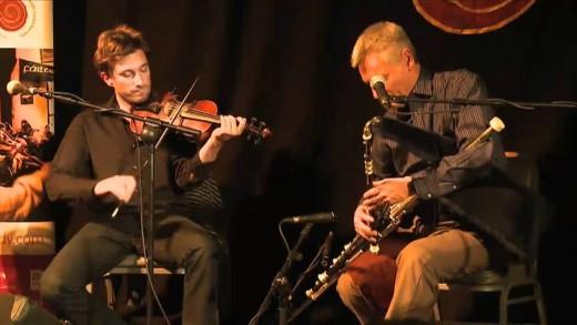 Caoimhín Ó Raghallaigh & Mick O'Brien Clip3