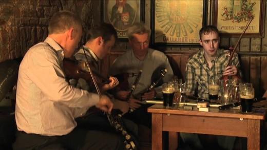 St. Patrick's Day Session in Dublin Clip 2